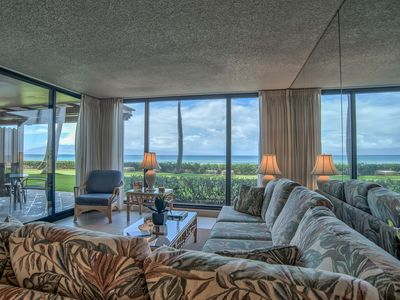 Photo for Low July Rates!!  Oceanfront & On The Beach! Mahana 114 Groundfloor 1b/1b slps4