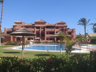 Photo for Nice apartment in Luxurious Urbanization very close to the beach