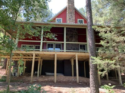 Photo for NEW!!! Raindance Lodge: Beautiful Brand New Cabin w/Huge Deck!