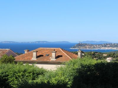 Photo for Charming Apt On Cote D'azur With Sea Views, Walking Distance To Beach And Shops