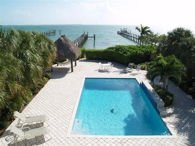 Photo for Lower Florida Keys: Private Open Water Estate