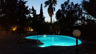 Photo for Villa Themis with swimming pool.