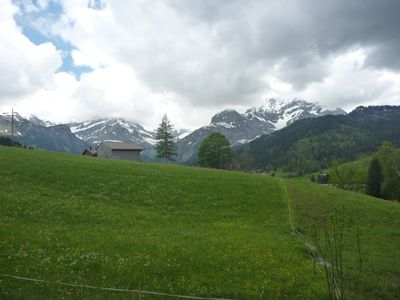 Photo for LAUENEN / GSTAAD - MAGIC VIEW - QUIET - APARTMENT ALL EQUIPE IN CHALET