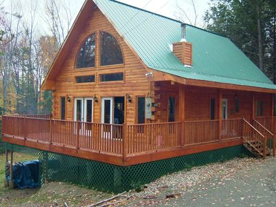 Photo for Mountain Log Cabin Getaway