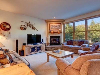 Photo for Breckenridge Ski Resort Views! Private hot tub, Garage parking, close to downtown!