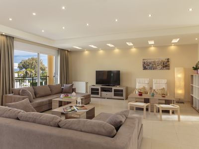 Photo for Villa Fotelia – Exquisite villa with private yard 50 meters from the beach