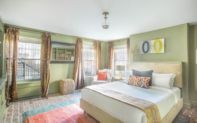 Photo for Stay with Lucky Savannah: Beautiful garden apartment on Chatham Square