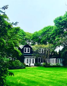 Gracious c1860 Estate and gardens set on 1.5 secluded acres close to Village