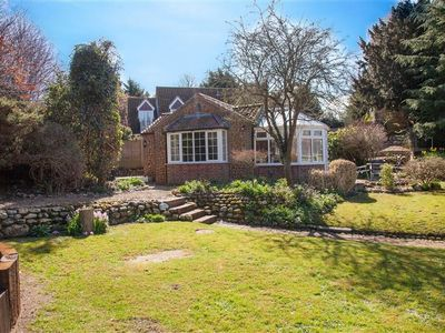 Photo for This single-storey retreat for couples is newly refurbished in the village of Heacham.