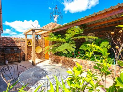 Photo for Studio with private terrace & free WiFi, walk to shops, near the beach!