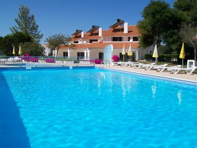 Photo for Pleasant apartment with swimming pool 15 minutes walk from Falesia beach