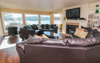 Photo for Gather Your Family And Friends For Lakefront Fun - Dock, Hot Tub & Game Rooms