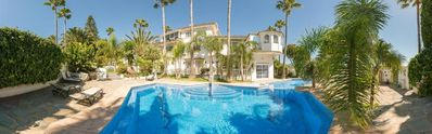 Photo for Apartment Estepona for 4 people with 2 rooms - Apartment in Villa
