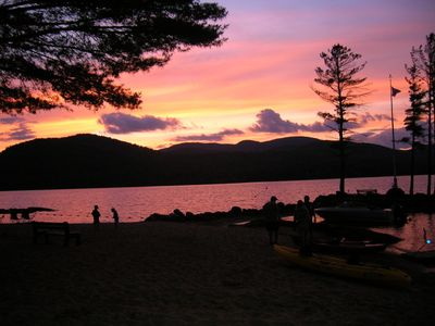 Photo for Private Lakeside Rental Property on Great Sacandaga Lake in Adirondack Park