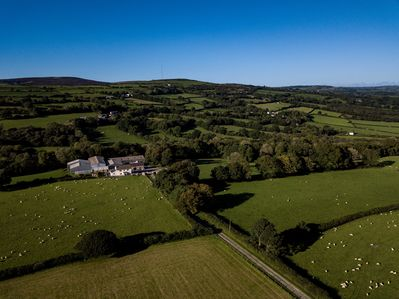 Y Cartws is situated on our farm, ideal for a peaceful base, plenty of open spac