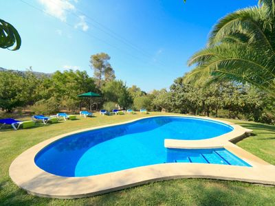 Photo for Charming Villa Faro for 8 guests, just 3km to Pollença town!