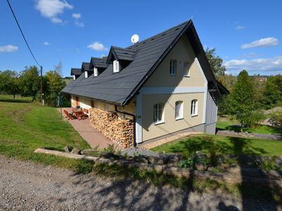 Photo for Spacious Cottage near Ski area in Bystra and Jiserou
