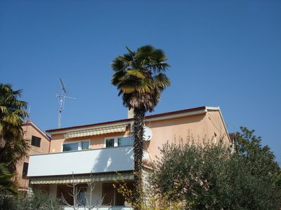 Photo for APARTMENTS 2 + 2 people, sea, air, 700 meters from the beach, free wifi, dog wants to come