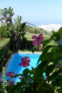 Photo for House with pool, garden and sea view RENEWED IN 2015