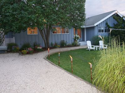 Photo for Beach House! Amazing house on private road in Amagansett, NY.
