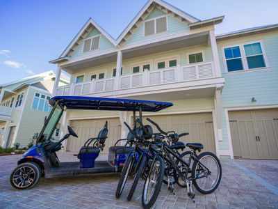 Photo for 5th Night FREE! Golf Cart and 3 Bikes INCLUDED! Large Resort Pool! ~Crazy Sexy Beeches Prominence 30