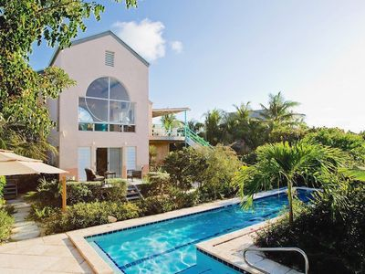 Photo for BEACHFRONT ESTATE Directly on Grace Bay Beach Providenciales TCI