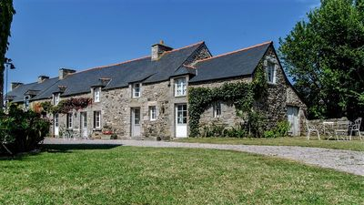 Photo for Beautiful family longhouse. Brittany (Cap Frehel) 5 bedrooms, sleeps 12.