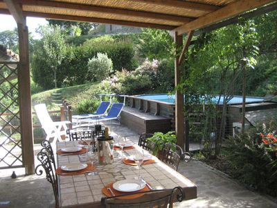 Photo for Private villa, pool, mountain views, near Lucca, Tuscany and close to amenities