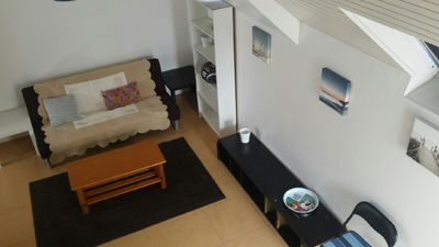Photo for Apartment with balcony in the center of Saint Malo