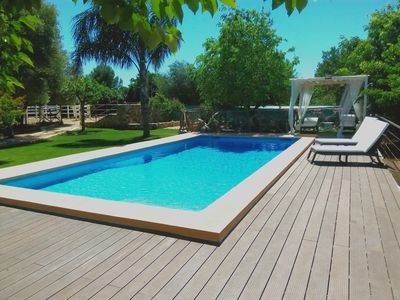 Photo for Modern holiday home for 6 people with large pool