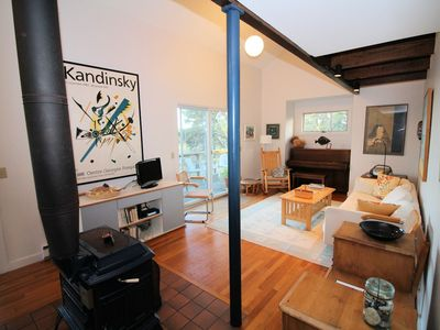 Photo for Lovely 3BD Contemporary--Screen Porch, Deck, Private, Tranquil Setting