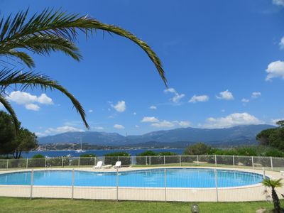 Photo for Beachfront house in Porto-Vecchio with swimming pools, tennis and beach