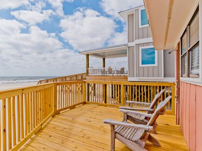 Photo for Pet Friendly, Beachfront, & Quick online booking for activities!!