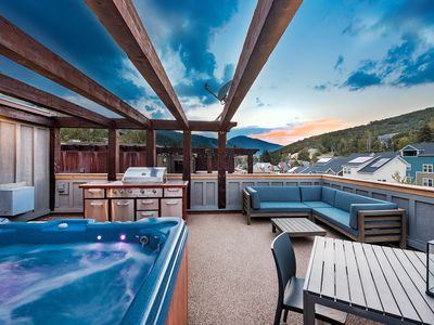 Photo for Modern Loft on Deer Valley Dr | Close to Main St. | Rooftop Deck & Hot Tub