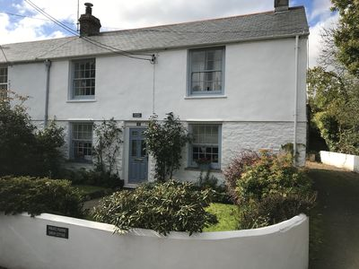 Photo for Idyllic village cottage between Falmouth and Truro with easy access to  coasts