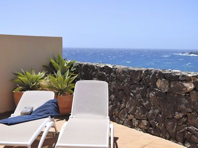 Photo for Stunning sea view, free Wifi, SAT TV, sunny terrace with view