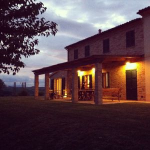 Photo for Idyllic Marche Hillside Villa