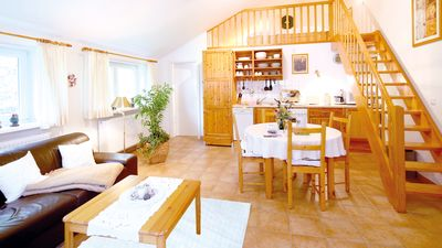 Photo for 1-room holiday apartment on the Eichenhof - directly on the North Sea