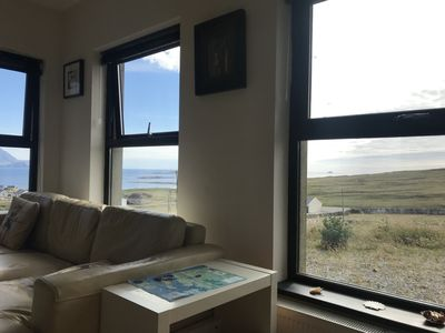 Photo for Ocean Breeze , Beautiful  3 bed  house  , absolutely stunning views , Belmullet