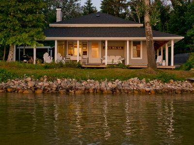 Photo for Enchanting, Historic Cottage on Lake Bellaire