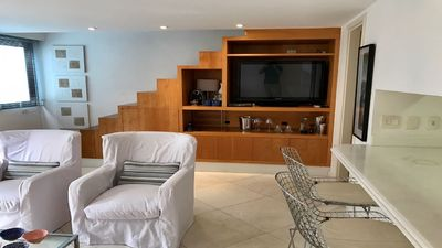 Photo for FLAT IPANEMA NEAR THE BEACH AND LAGOON