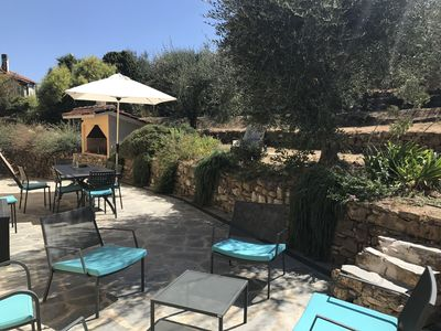 Photo for Villa 1.5 km from the sea, in the middle of olive trees