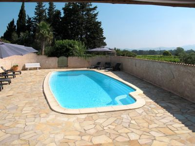 Photo for One bedroom Villa, sleeps 6 in Puget-sur-Argens with Air Con and WiFi