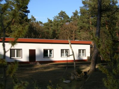 Photo for Holiday home in the middle of the forested area in the immediate vicinity of Berlin
