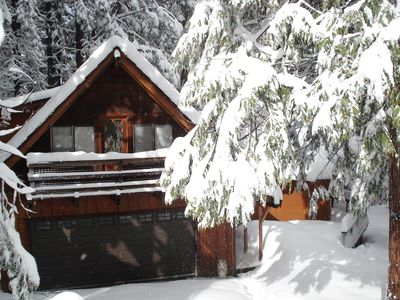 Photo for Bigelow Strawberry Cabin: 6 miles to Dodge Ridge Skiing...family friendly.