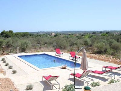 Photo for SA PLETA PETITA- Ses Salines house. Families. Sat TV. Private pool. Garden, BBQ. - Free Wifi