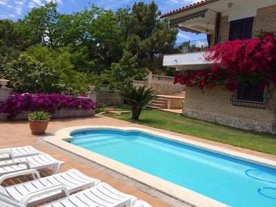 Photo for Lloret De Mar: House/Villa  with garden &swimmingpool
