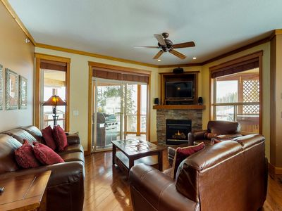 Photo for Ski-in/out from this beautifully decorated alpine lodge w/ private hot tub