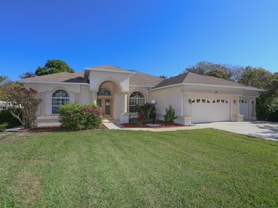 Photo for Spacious Walk To Beach Home With 2 Living Rooms, And Beautiful Pool Area