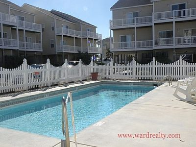 Photo for Nicely decorated 4BR Sea Star Village Townhouse; Ocean Views & community pool - Hoos at the Beach